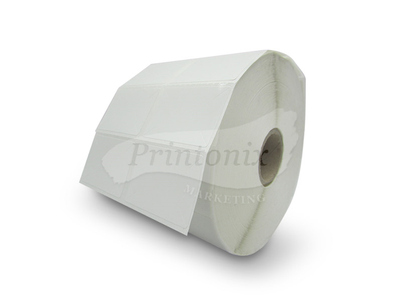 Barcode Label sticker 35mm x 25mm (2 panel (4000pcs/roll) - 10 Rolls FREE 1 Rolls Ribbon
