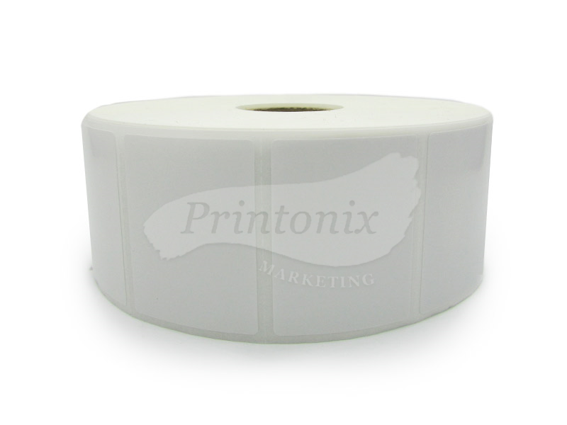 Barcode Label sticker 40mm x 30mm (2000pcs/roll) - 10 Rolls FREE 1 Rolls Ribbon