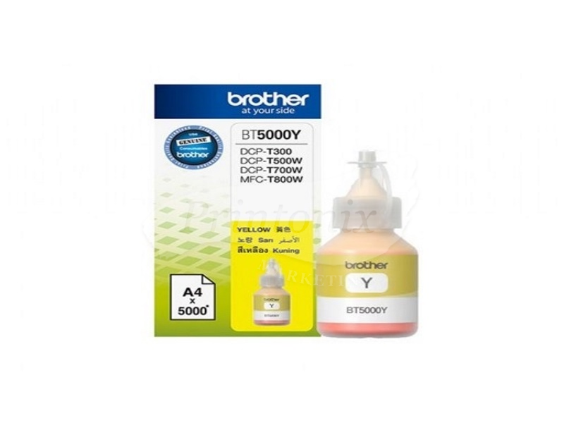 BT5000 Yellow Ink bottle