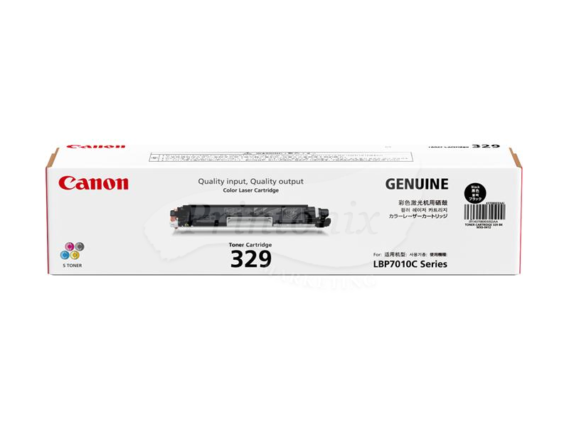 Canon 329 Black Original Toner Cartridge