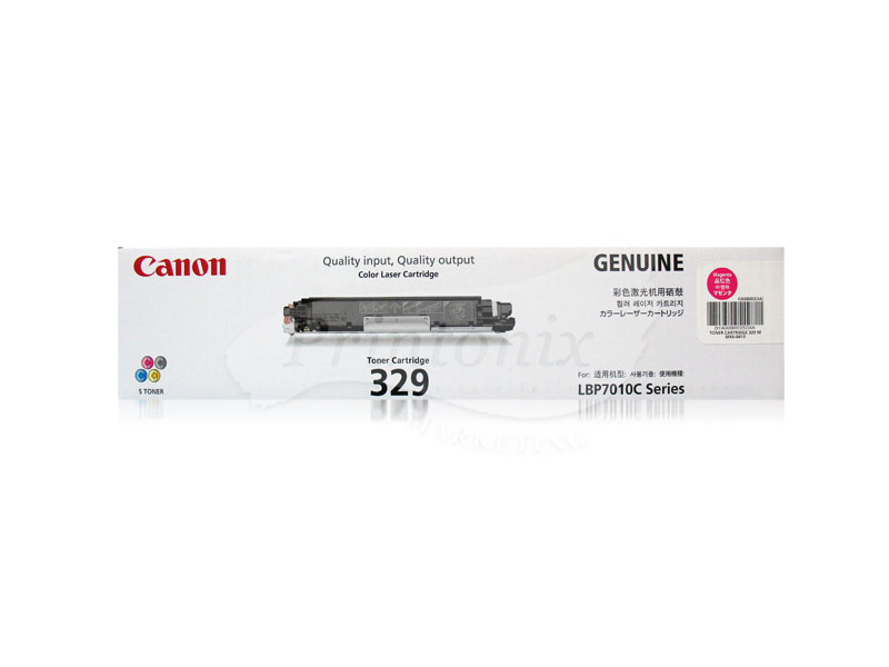 Canon 329 Magenta Original Toner Cartridge
