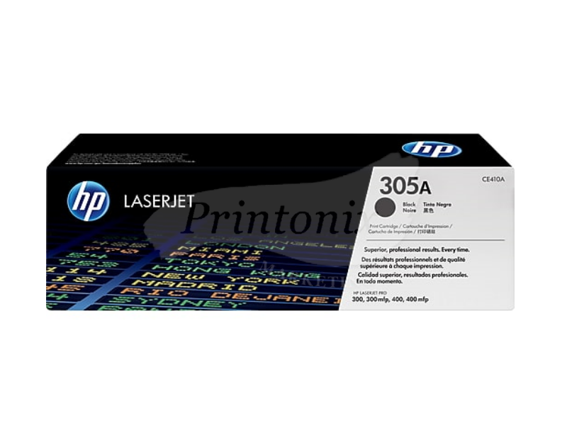 HP CE410A (305A) Black Original Toner Cartridge