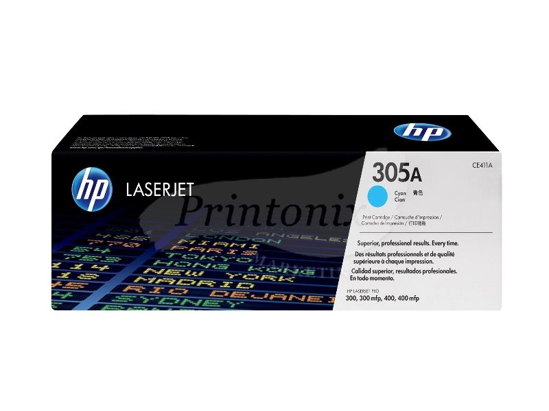 HP CE411A (305A) Cyan Original Toner Cartridge