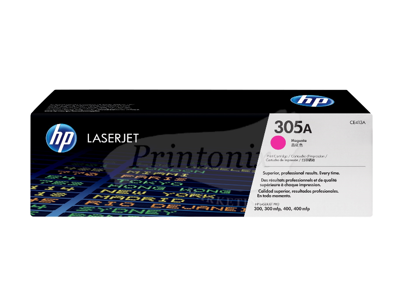 HP CE413A (305A) Magenta Original Toner Cartridge