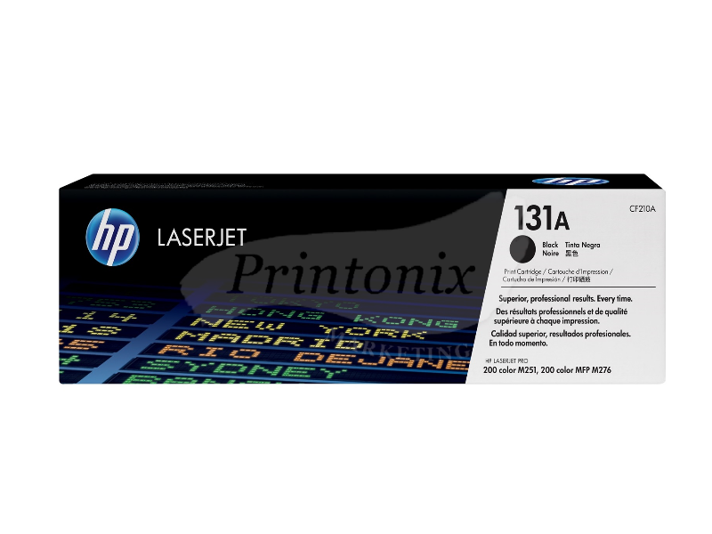 HP CF210A (131A) Black Original Toner Cartridge
