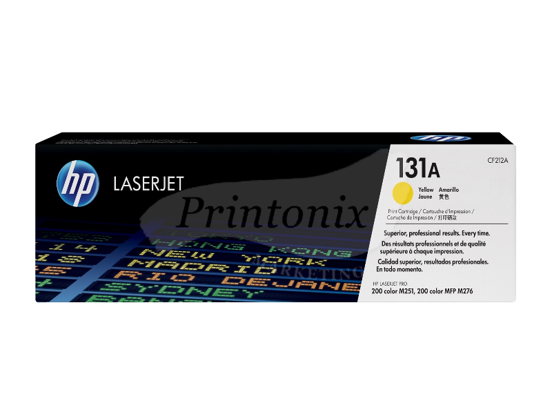 HP CF212A (131A) Yellow Original Toner Cartridge