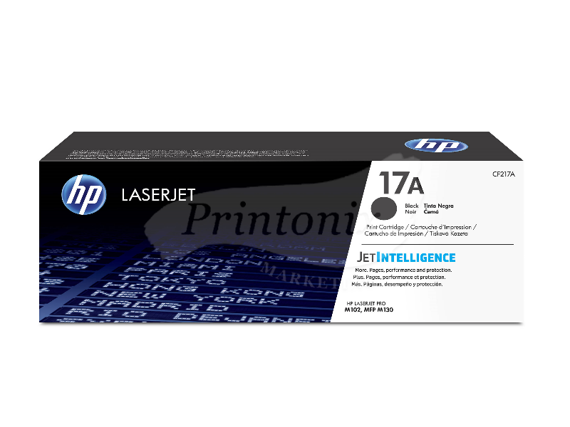 HP CF217A (17A) Black Original Toner Cartridge