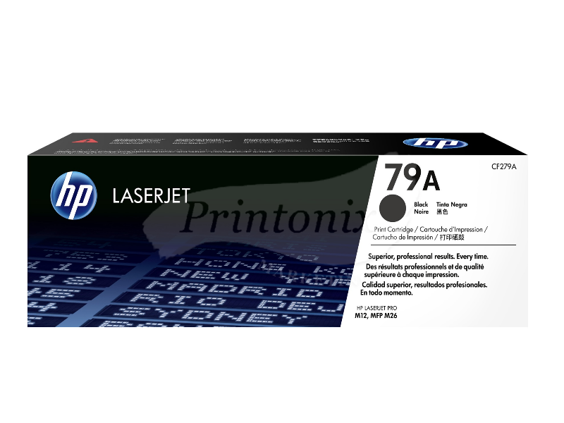 HP CF279A (79A) Black Original Toner Cartridge