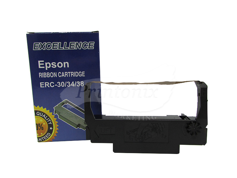 Epson ERC 30/34/38 Dot Matrix Printer Ribbon (Purple)