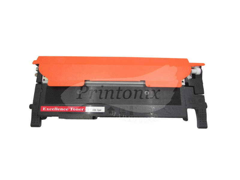 Samsung CLT-C406S Cyan Compatible Toner Cartridge