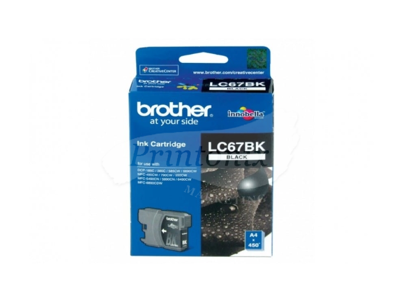 LC 67 Black Compatible Ink Cartridge