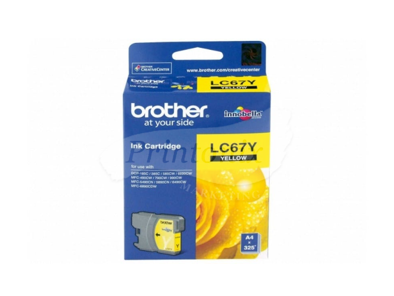 LC 67 Yellow Compatible Ink Cartridge