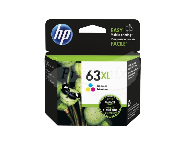HP 63XL Color Ink Cartridge