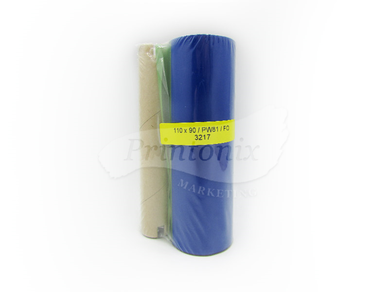 Premium Wax Barcode Ribbon 110MM X 90M