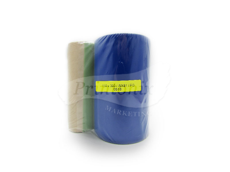 Wax Barcode Ribbon 110MM X 300M