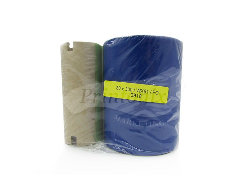 Wax Barcode Ribbon 80MM X 300M