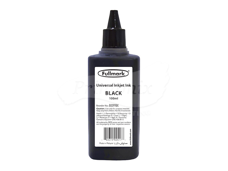 100ML BLACK UNIVERSAL REFILL INK (BI099)