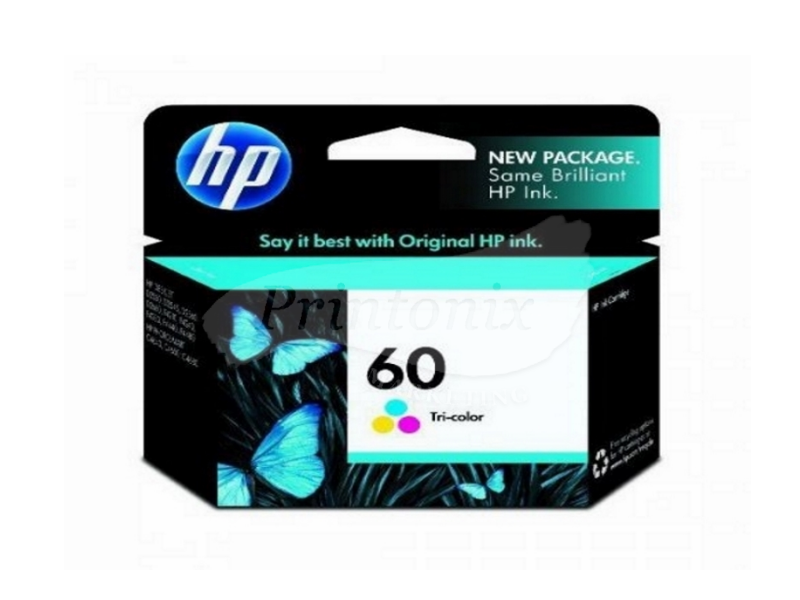 HP 60 Tri Color Ink Cartridge