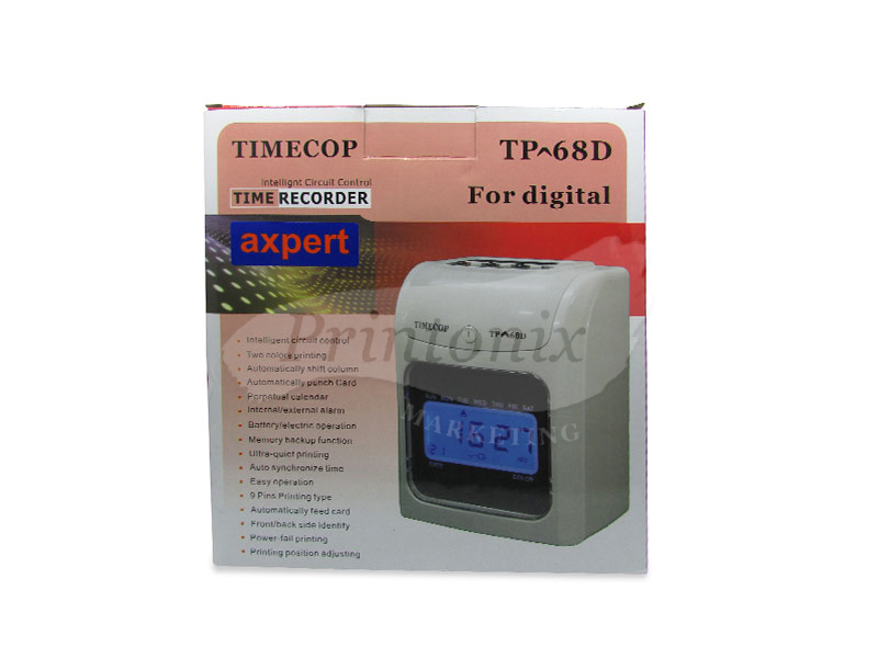TIMECOP TP-68D Digital Punch Card Machine