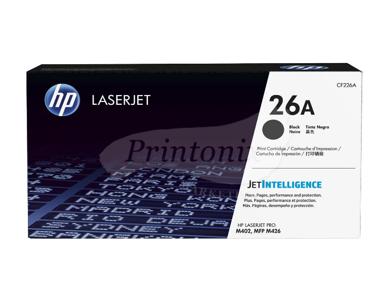 HP CF226A Black (26A) LaserJet Original Toner Cartridge